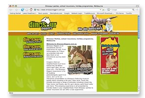 dinosaur_website